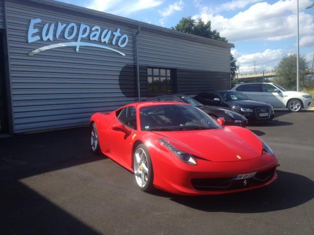 Ferrari 458 Italia 458 Italia Coupe F1