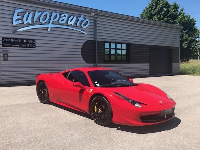 Ferrari 458 Italia F1 Coupe