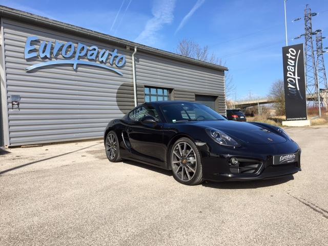 Porsche Boxter Cayman Black Edition 2,7L 265CH PDK