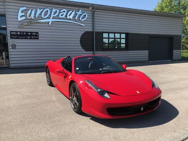 Ferrari 458 Italia Spider 570CH DCT