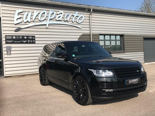 Land-Rover Range Rover SDV8 Vogue Black Edition
