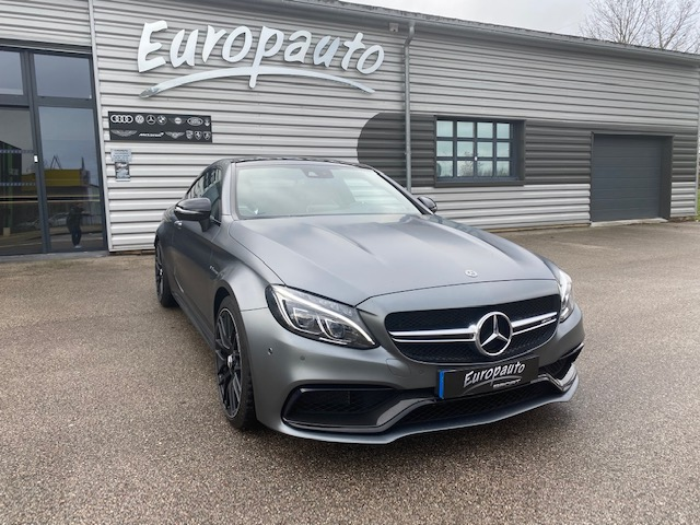 Mercedes C63 S AMG coupe