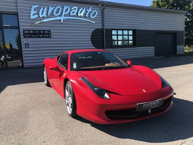 Ferrari 458 coupé F1 570ch